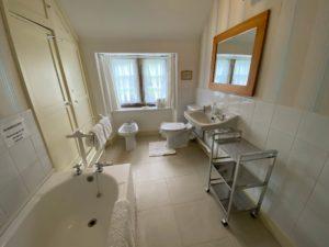 Bathroom at Chapel Cottage - Lee Bay