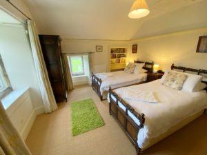 Bedroom at Chapel Cottage - Lee Bay