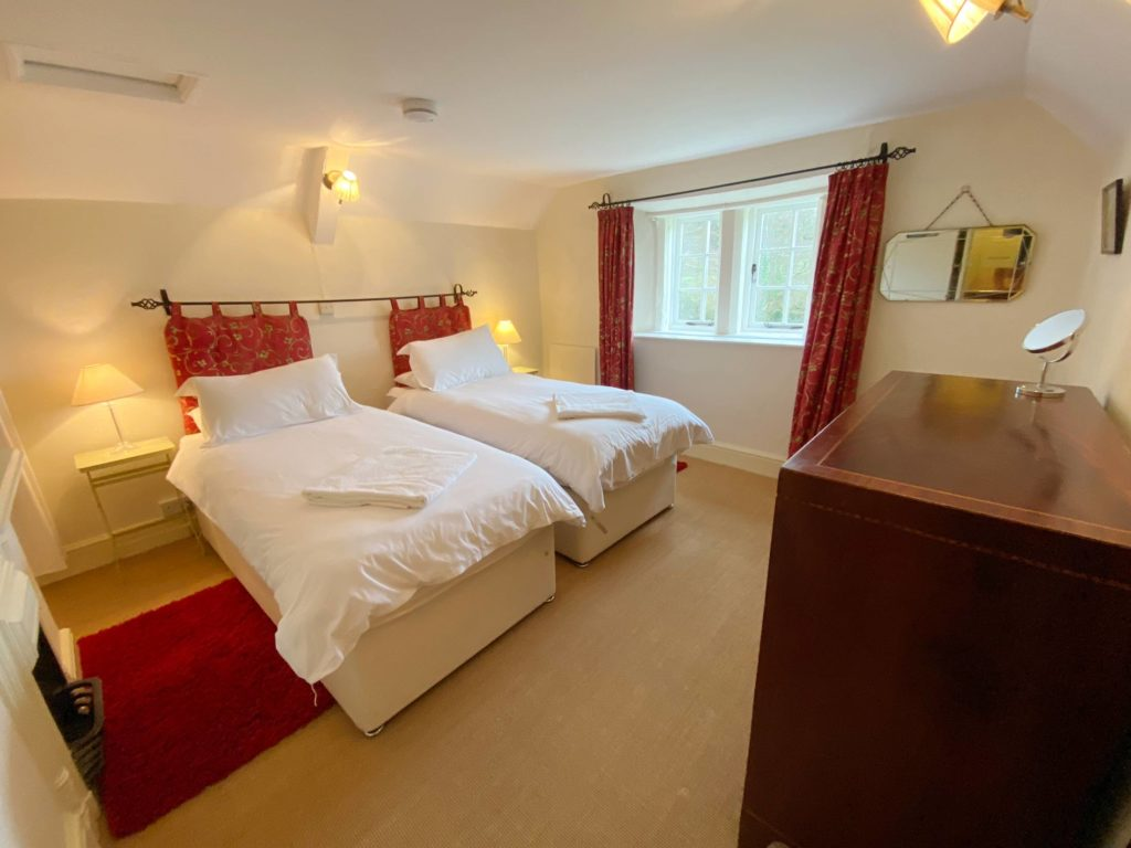 Bedroom at Chapel Cottage - Lee Bay
