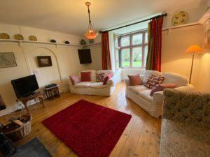 Lounge at Chapel Cottage - Lee Bay